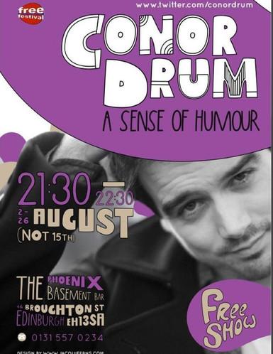 Conor Drum: A Sense of Humour