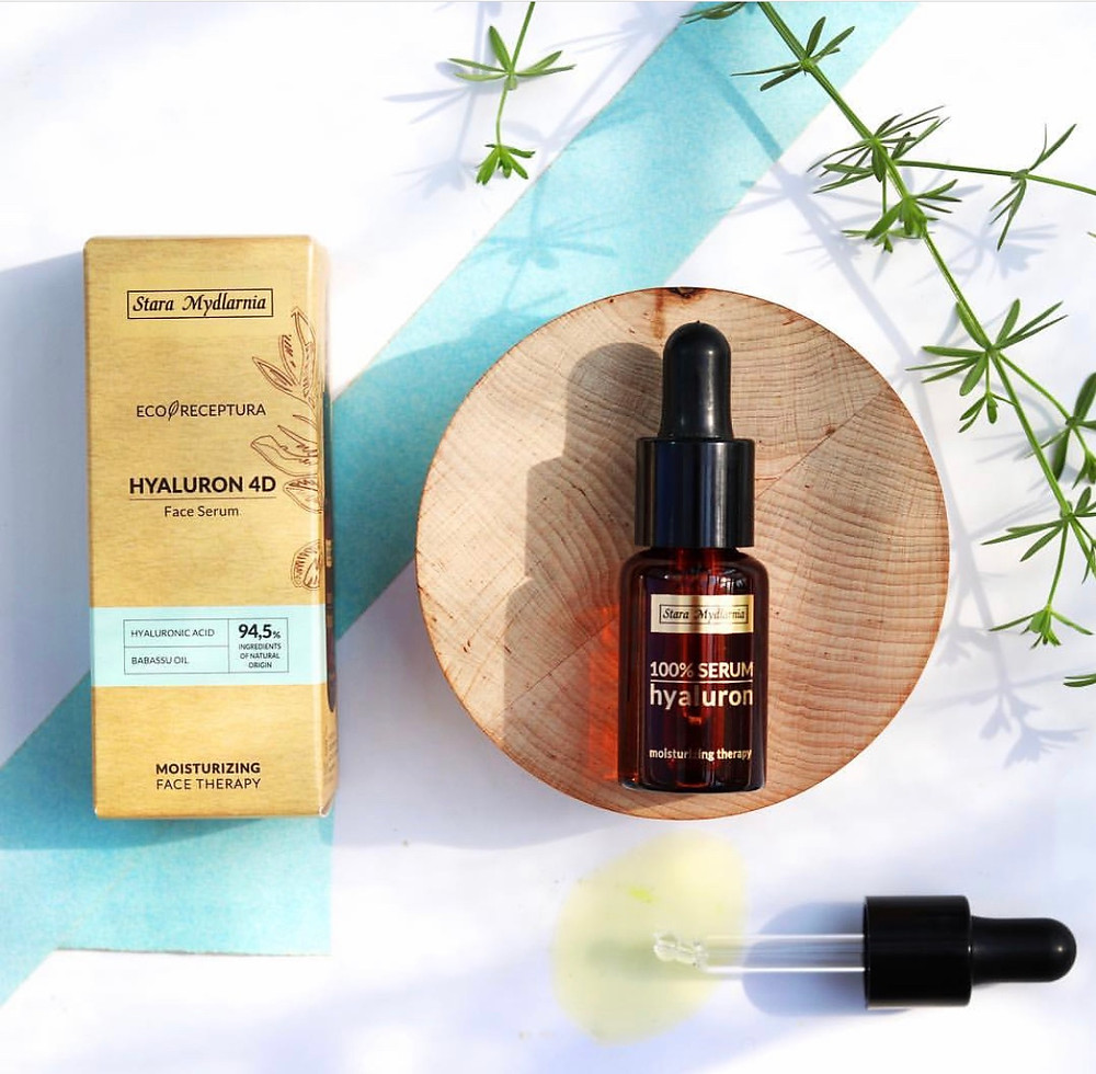 moisturising, face serum , skincare, hyaluronic acid, stara mydlarnia, eco receptura,