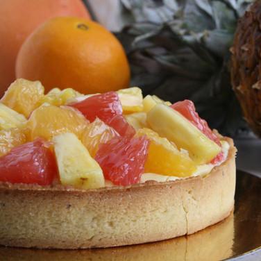 Exotisch fruittaartje