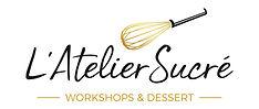 L'Atelier_Sucré_Logo_Slogan_White_Backgr