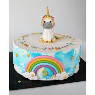 Unicorn Ijstaart