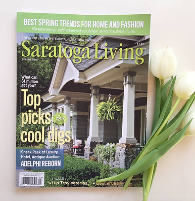 Saratoga Living Magazine Interior Designer