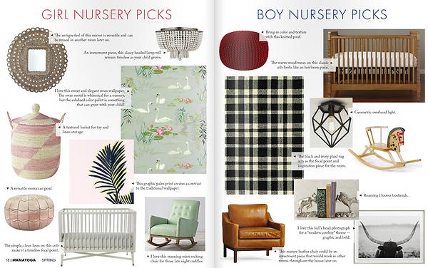 nursery decorating ideas interior designer