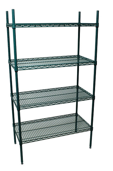 "21"" EPOXY WIRE SHELVING"