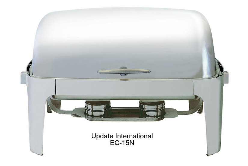 DELUXE RECTANGULAR ROLL-TOP CHAFER