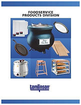 TOMLISON FOODSEVICE CATALOG COVER