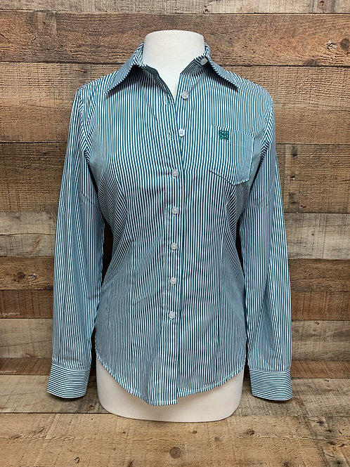 Cinch Aqua Blue Stripe