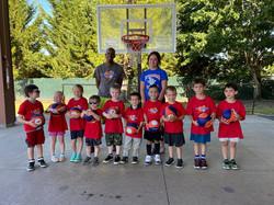 toddler basketball group photo 2021