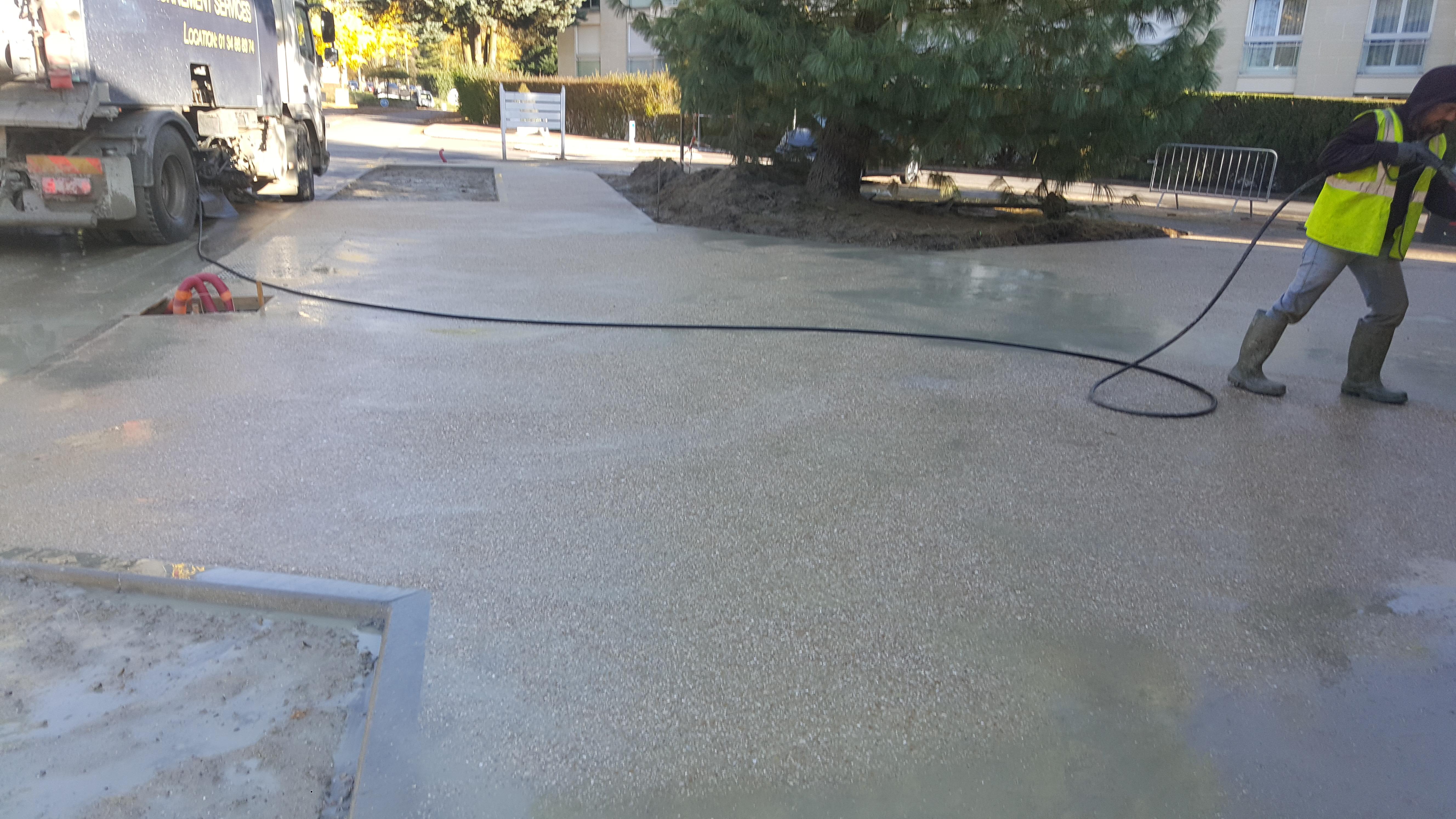 beton desactivé bailly