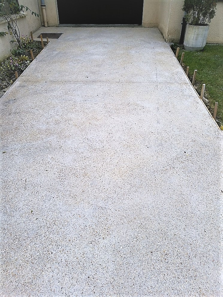 beton sablé