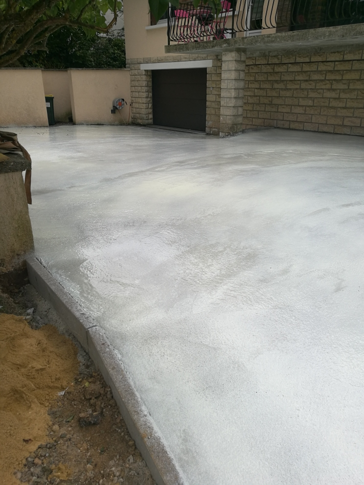preparation beton desactivé