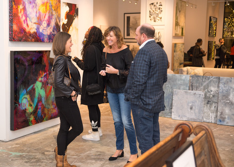 Soho House + Ashley Johnson Private Art Exhibition