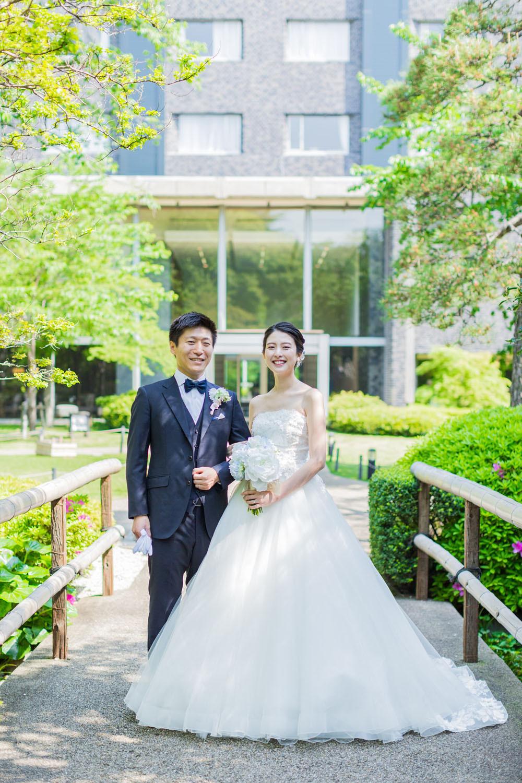 グランドプリンス高輪の結婚式前撮り写真