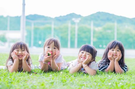 沼津大岡公園で撮影した子ども写真