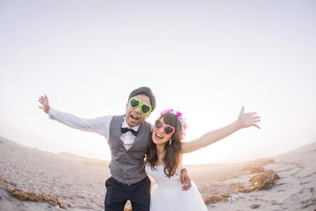 中田島砂丘で撮影した結婚式前撮りロケーションフォト