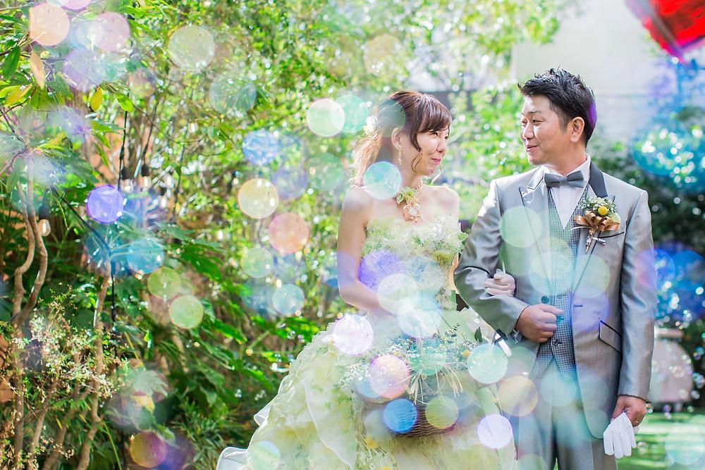 浜松駅近くのマンダリンアリュールで撮影をした結婚式ロケーション写真