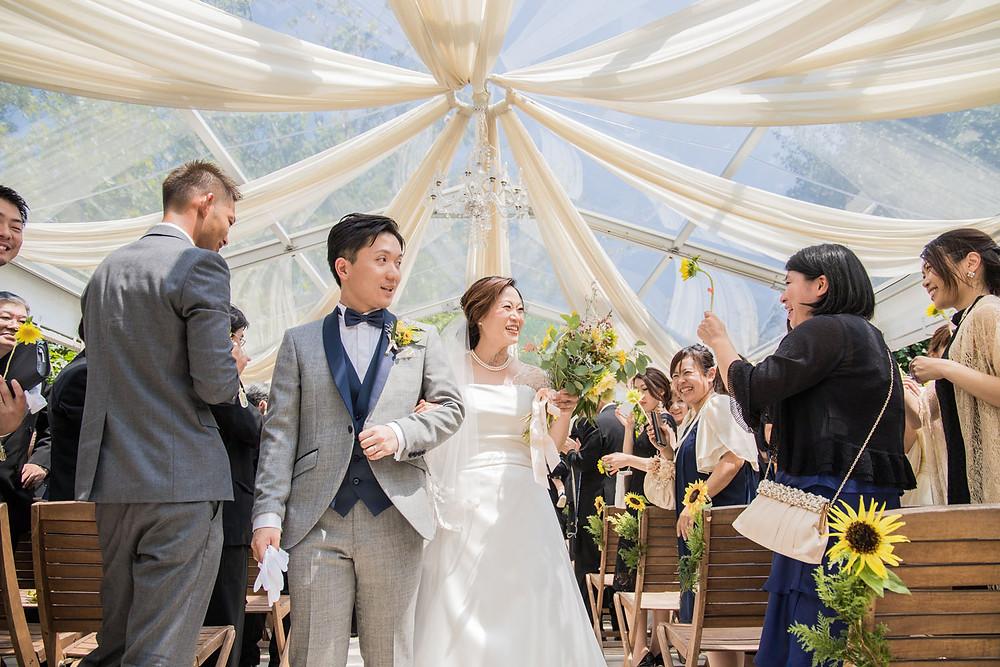 日比谷パレスの結婚式写真