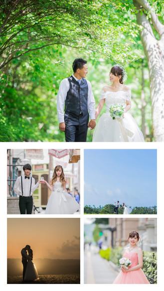 東京丸の内やUSJで撮影した結婚式前撮り写真