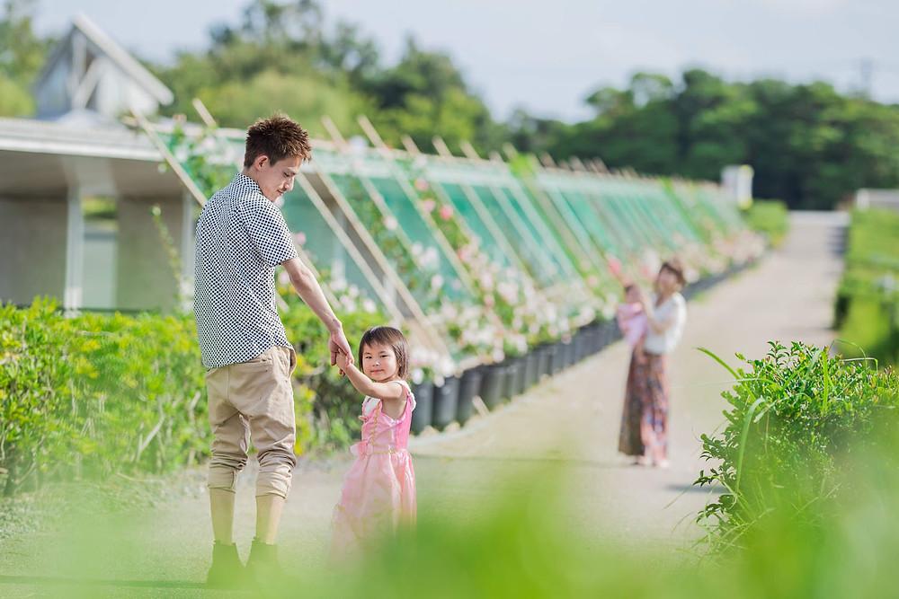 浜松の浜名湖ガーデンパークで撮影をしたロケーションフォト