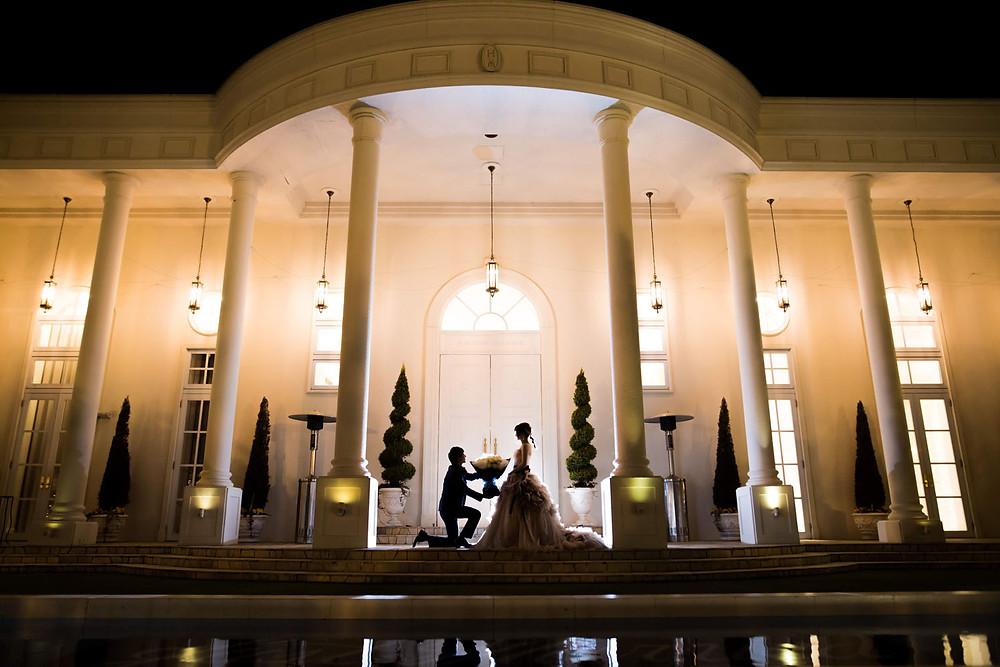 アーセンティア迎賓館で撮影をした結婚式ロケーション写真