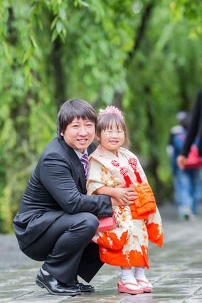 3歳女の子の七五三写真
