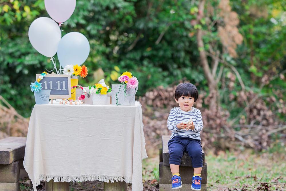 もりまるイベントで撮影した男の子の写真