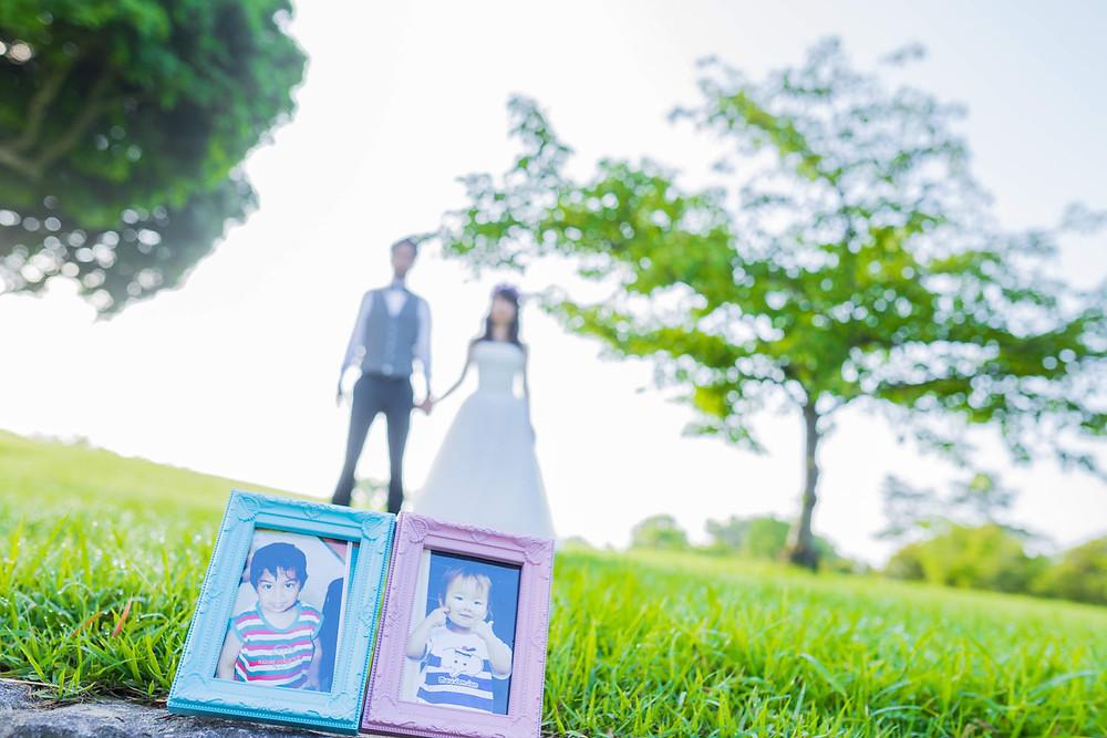 遠州灘海浜公園の風車公園で撮影した結婚式前撮りロケーションフォト