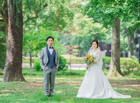 【 東京:日比谷パレス 】結婚式撮影 vol.1