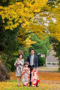 笠原神明神社で撮影した七五三写真