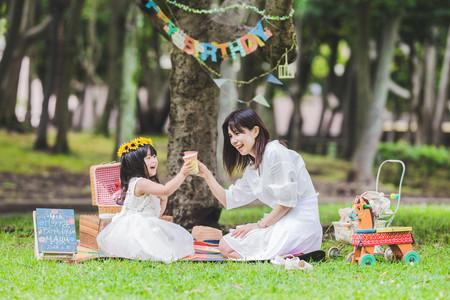 沼津大岡公園で撮影したバースデーフォト