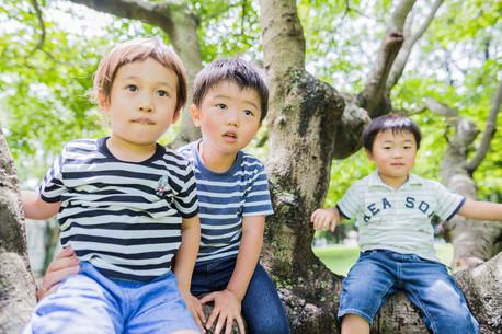 沼津大岡公園で撮影したキッズフォト