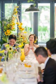 日比谷パレスでの結婚式写真