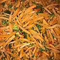 Schreded Spicy Carrots