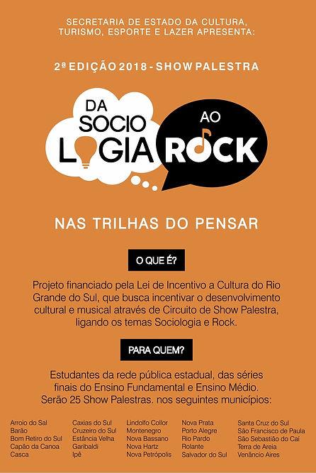 Da Sociologia ao Rock 2 - flyer 10 x 15