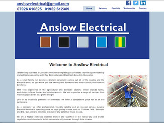 I found girl friday web design through a Google search. From the first email to going live took only four weeks. Debbie offers a quick, professional, friendly service. I will be recommending Debbie to all of my tradesmen friends.  Graham Anslow - Anslow Electrical - Shropshire