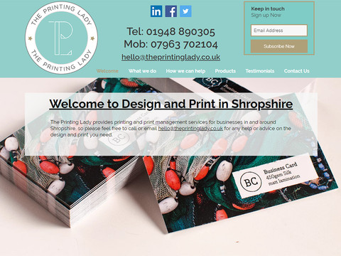 I loved working with Debbie on my new web site. Efficient, helpful and very knowledgable about all things web site related. I would recommend Debbie to anyone looking for a personal and professional approach to their own project.  Nicole Eldegwy - The Printing Lady UK
