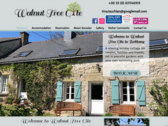 We are so happy we found Debbie. From our first meeting we knew she would create the web site we wanted. We really can't thank Debbie enough. She is an expert web developer, but has the most amazing personality that makes you trust and feel at ease with her.  Tina & Graeme - Walnut Tree Gite - Brittany - France