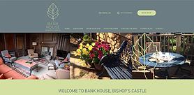 Bank House Bishops Castle - Web site designed by girl friday web design