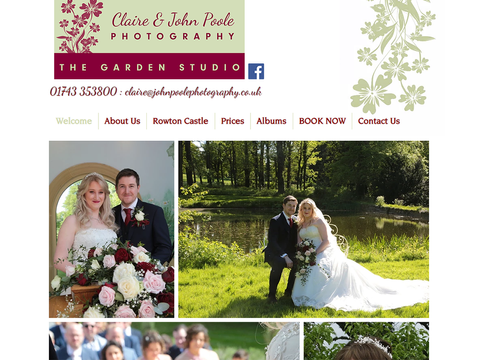 From the first time we met Debbie, we knew she was the web designer for us. She listened and took on board what we wanted to achieve. The whole process took under a month and we are more than pleased with the finished result. Thank you Debbie, it has been a pleasure working with you. We love our new web site.  Claire & John Poole Photography
