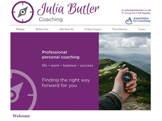It was a real pleasure working with Debbie and I love what she has created for me. Debbie is solutions focused, open to ideas and works quickly to resolve issues. She combines creativity with the ability to deliver a finished product in good time. I am very happy to recommend her services.  Julia Butler - Life Coach - UK