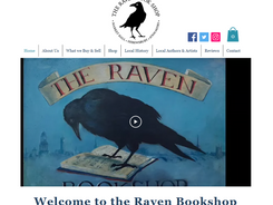 Thanks to the tireless hard work and creativity of Girl Friday Web Design, who was highly recommended to me. She's been brilliant throughout the whole process.  Laura - The Raven Bookshop - Shrewsbury