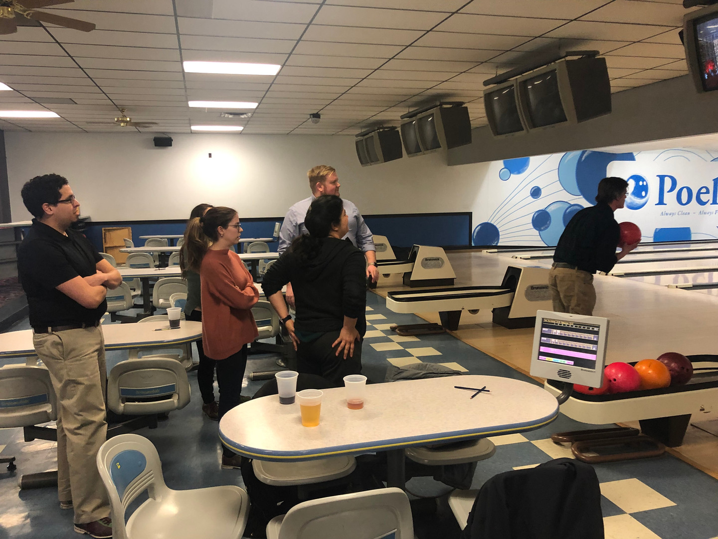 Office Bowling Party