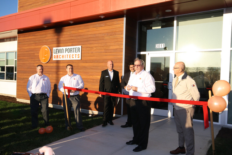 Newmark Office Ribbon Cutting