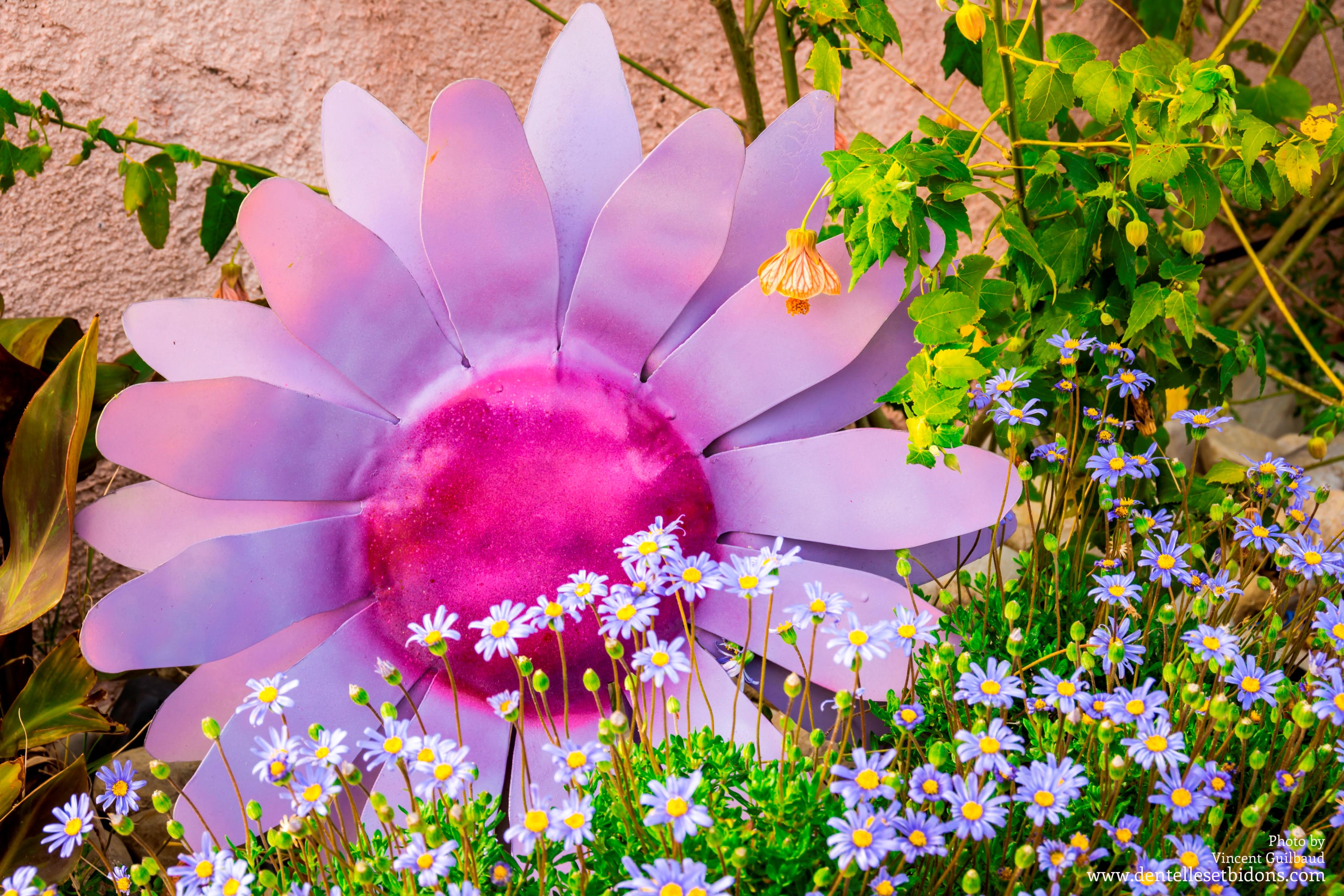 sculpture fleur décoration design