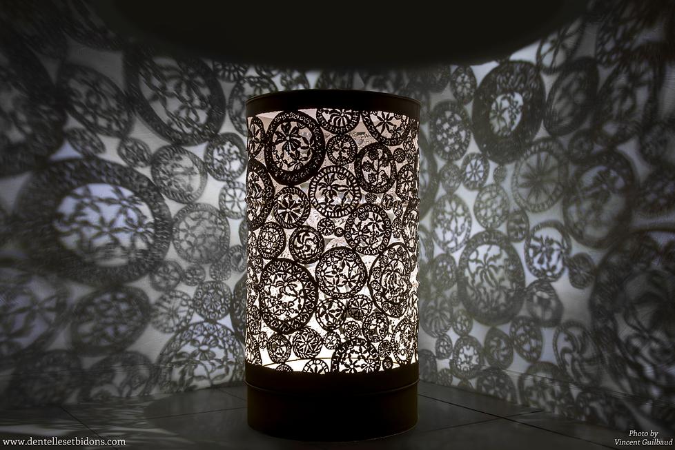 sculpture luminaire design déco