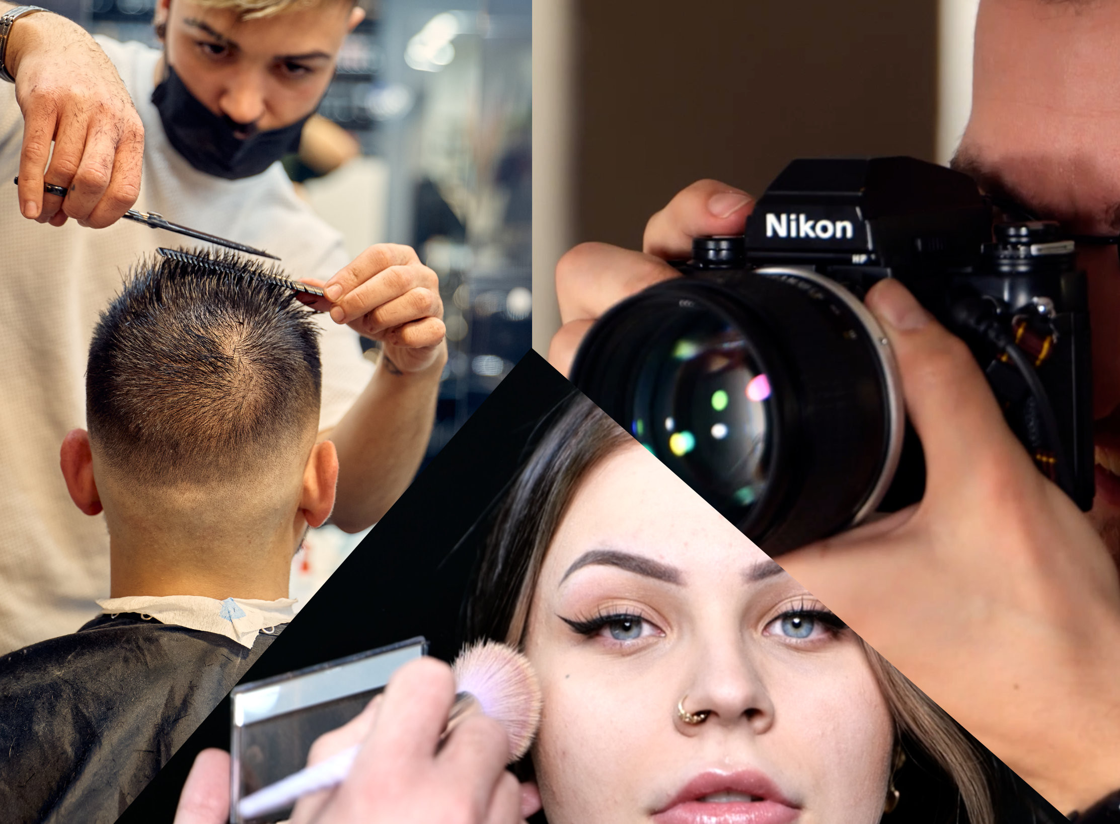 Shooting, coiffure ET maquillage