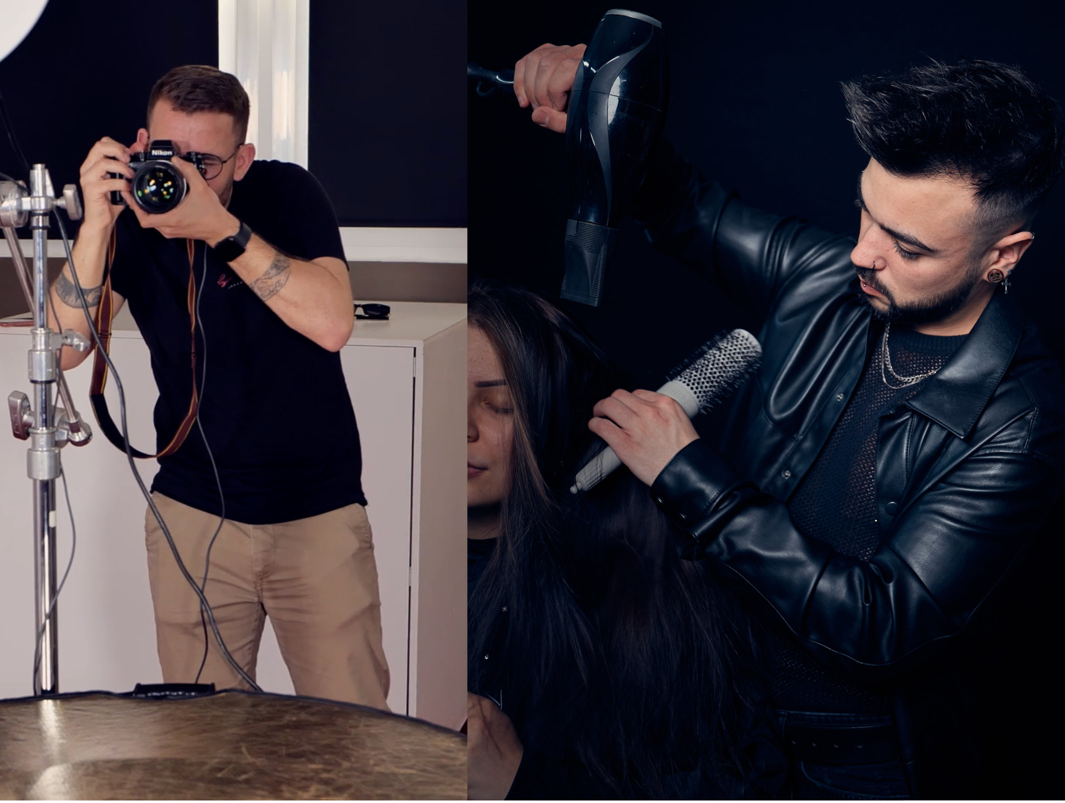 shooting + coiffure OU maquillage