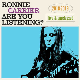 Ronnie Carrier Are You Listening_ Cover