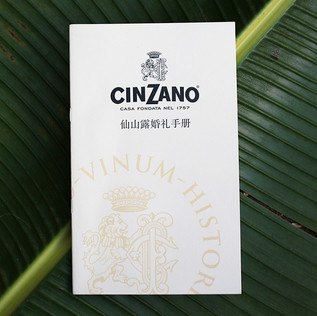 Here's Cinzano's promotional booklet that promoted their fine beverages to both new and existing clients.