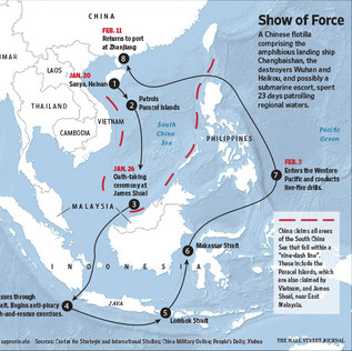 South-east Asia - Show of Force